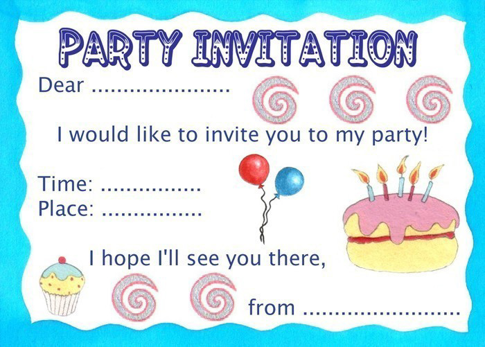 Party Invitation Styles – Invitations for Parties